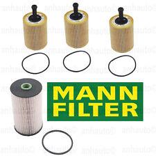 Mann-Filter 3-Oil Filter's + Diesel Filter 2.0 TDi Beetle Golf Jetta