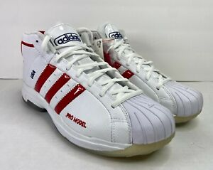 ADIDAS PRO MODEL 2G SM USA BASKETBALL TOKYO 2020 RED/WHITE UNRELEASED SIZE 10.5