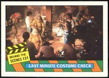 Behind The Scenes #131 Teenage Mutant Ninja Turtles Movie 1990 Topps Card(C1324)