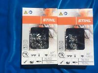 STIHL 36RS72 x 2 or 3/8 x .063 x 72DL Chainsaw Chain (Twin Pack)... Super Value!