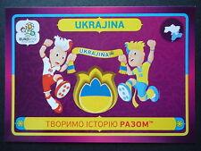 Panini 42 Ukrajina Maskottchen EM 2012 Poland - Ukraine
