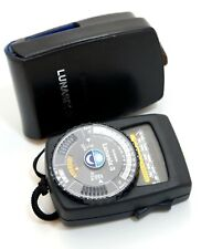 Gossen Lunasix 3 Light Meter (late Black Model) Fully working with Case