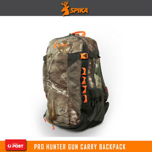 Spika Realtree Camo Pro Hunter Sling Hunting Backpack Firearm Carry Back Pack