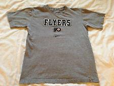Youth Boy's Reebok NHL Philadelphia Flyers Gray T-Shirt, Size Med