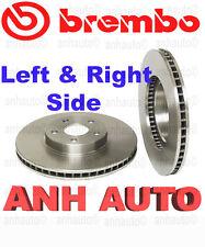 2-Pieces Brembo 25564 Front Brake Rotors Pontiac Celica Corolla Matrix  Scion Tc