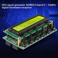 Generatore di segnali DDS AD9850 6 bande 0~55MHz Radio digitale a onde corte KIT