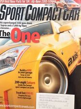 Sport Compact Car Magazine Supercharged 350Z 2 Supras March 2004 021418nonrh