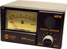 Power Reducer & Meter CB Ham Radio HF Zetagi HP6