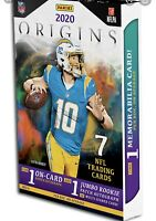 2020 PANINI ORIGINS FOOTBALL NFL CARD HOBBY Box BREAK 1 RANDOM TEAM
