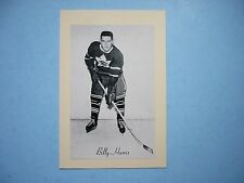 1944/64 BEEHIVE CORN SYRUP GROUP 2 HOCKEY PHOTO BILLY HARRIS BEE HIVE