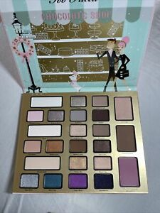 Too Faced Christmas New York The Chocolate Shop -Palette Only- New! No Box