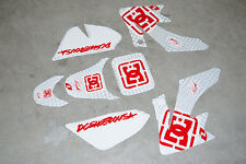 Dirt Pit Bike Fairing Plastic Decal Graphics 50cc 70cc TAOTAO ROKETA SUNL BAJA D