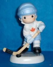 PRECIOUS MOMENTS~CANADIAN EXCLUSIVE~HOCKEY PLAYER # 99LIMITED EDITION - VERY RAR