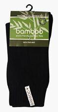 EXTRA THICK 92% BAMBOO WORK SOCKS - BLACK, NAVY OR KHAKI BAMBOO TEXTILES