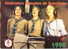 CALENDRIER FEDERATION FRANCAISE DE SCOUTISME 1990 (RAIDERS, NEUTRES...)