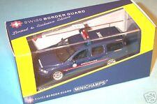 """wonderful modelcar VOLVO V70-2000 """"GRENZWACHE GWK"""" 2004 - darkblue - 1/43 - lim."""