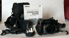 Nikon Coolpix 8400 megapixel digital camera.