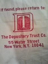 DTCC Money Bag