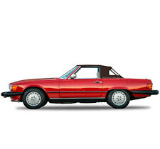Mercedes R107 560SL 380SL 450SL Convertible Soft Top 1972-1989 BROWN STAYFAST