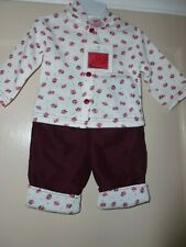 Isabelle Rose Collection Girls  Jacket and Trousers Set age 6-12 months nwt