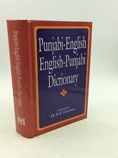 PUNJABI-ENGLISH, ENGLISH-PUNJABI DICTIONARY by Dr. K.K. Goswami - 2000 -