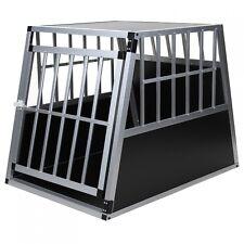 Jalano Hundebox L-XL Alu große Hunde Auto Gitterbox geneigte Rückseite - B-Ware