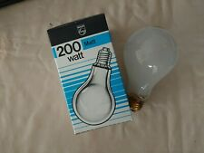 pk of 2 in box 200w ES E27 240v GLS bulb lamp Phillips pearl matt frost dimmable