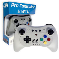 Wireless Pro Controller Game Pad for Nintendo Wii U by Old Skool (Classic Gray)