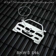 BMW 3 E46 Stainless Steel Keychain