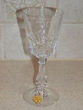"TIFFIN FRANCISCAN GLASSWARE ST. JAMES PATTERN WINE STEM 6 3/4"" EXCELLENT!"