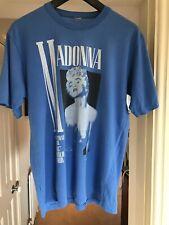Madonna camiseta Vintage 1987 quien es esa chica Tour Azul Super Raro Juguete De Niño