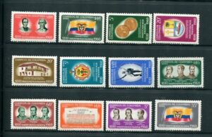 Colombia #719-21 C377-85 MNH