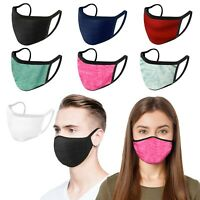 5 Pack - iFab Washable Reusable Cloth Face Mask - Made In USA - Assorted Color