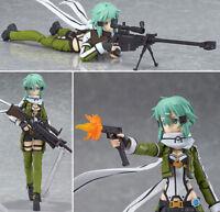 Anime Sword Art Online 2 Figma241 Sinon Asada Sao 2 PVC Action Figure Collection