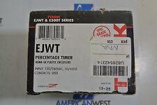 Tork EJWT Percentage Timer NEma 4 X plastic Enclosure 120/240 Volt, SPDT NEW
