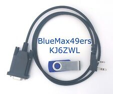 Serial Programming Cable Kenwood TK-250 TK-350 DB-9 KPG-22+DOS+KPG-23D Software
