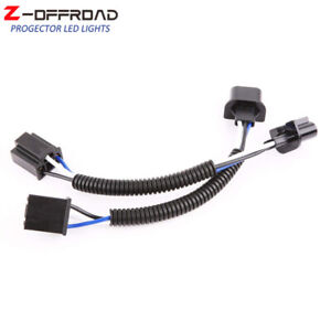 2pcs H4 9003 To H13 9008 Car Headlight Pigtail Wire Wiring Harness Adapters