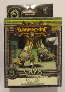 Warmachine Cryx Defiler Bonejacks PIP 34090 NIB