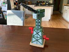 Cranky the Crane GUC! THOMAS & FRIENDS TRAIN ENGINE WOODEN RAILWAY WOOD