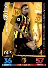 Match Attax 2018/19 EXTRA - Watford Domingos Quina (Update Card) No. U72