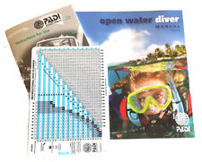 PADI Manual - Open Water with RDP Table, Metric  Latest Edition