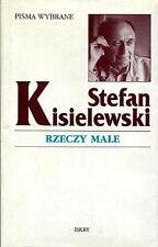 STEFAN KISIELEWSKI - RZECZY MAŁE - BOOK 1998