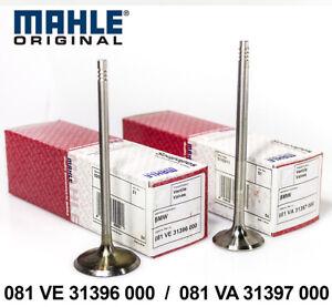 2X INTAKE + EXHAUST VALVE BMW N52 B30 3.0 L MAHLE 081VE31396000 + 081VA31397000