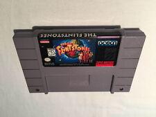 The Flintstones (Super Nintendo SNES) Game Cartridge Excellent!