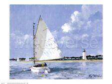 Vela Stampa Poster - Coming Home da Ray Ellis 24x18 Vela Oceano Poster