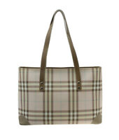 Burberry Vintage Candy Pink Nova Check Tote Bag