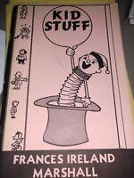 Frances Marshall series KID STUFF Volume 1 Children's Shows Gags Jokes Routine