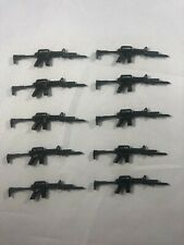 Steel Brigade Style Black Major Lot of 10 Weapons Guns GI Joe