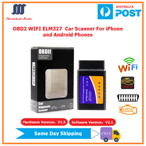 Super WIFI OBD2/II Car Diagnostic Scanner on  Android and iPhone