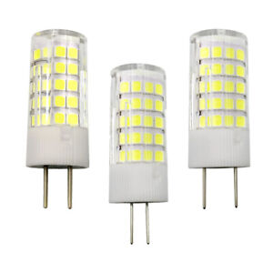 G4/G8/GY6.35 Base LED Lights Bulb 64-2835 AC/DC 12V Light 4W Ceramics Lamp